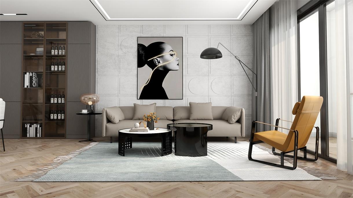 年轻人喜欢的空间,更多是舒适和开放,客厅装修从如何开始?